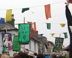 Helston Green Man Banners